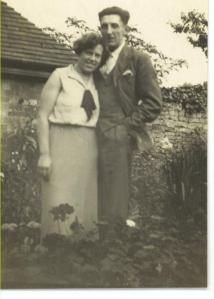 Mum and Dad (looking quite a lot like George Orwell) c.1937