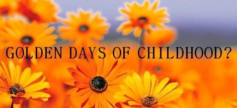 Capture golden days of childhood