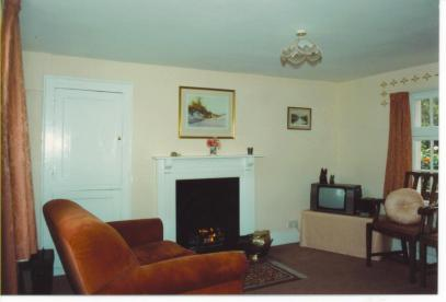 The renovated sitting room.